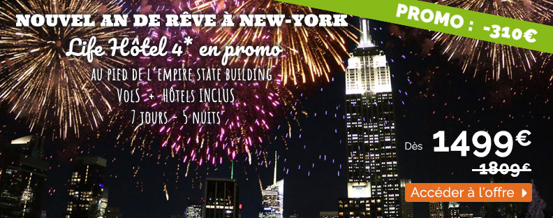 promo nouvel an New York